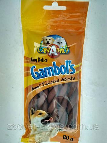 Лакомство для собак Косичка говяжая Croci KingDelice , фото 2