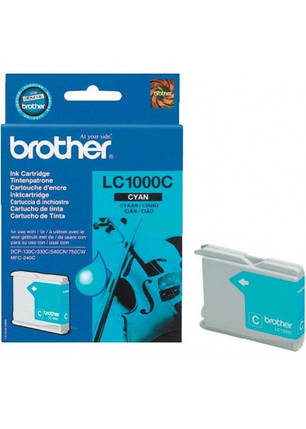 Картридж Brother DCP-130/ 330/ 350, MFC240C/ 465CN/ 885CW cyan, фото 2