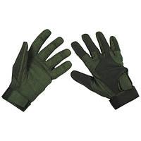 "Перчатки ""Stripes"" тёмно-зелёные (S) MFH 15813B"
