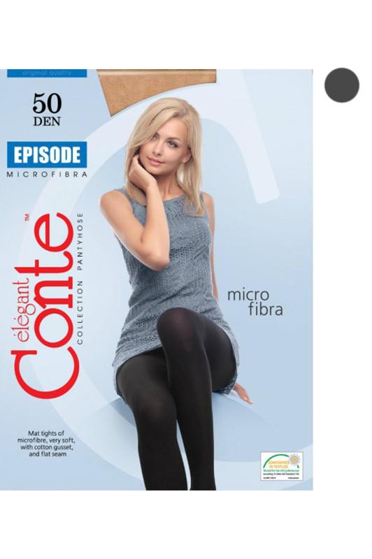 Колготы - CONTE EPISODE - 50 den grafit - 5