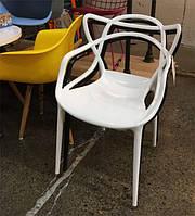 Детское кресло АC-006C Masters Chair Kids, белый пластик, дизайнPhilippe Starck