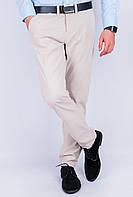 Брюки мужские однотонные AG-0003587 Светло-бежевый
