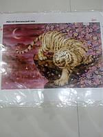 Основа для вышивания бисером, Бенгальский тигр, Маричка, РКП-147