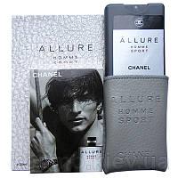 Мини-парфюм в  чехле Chanel Allure homme Sport 50 мл