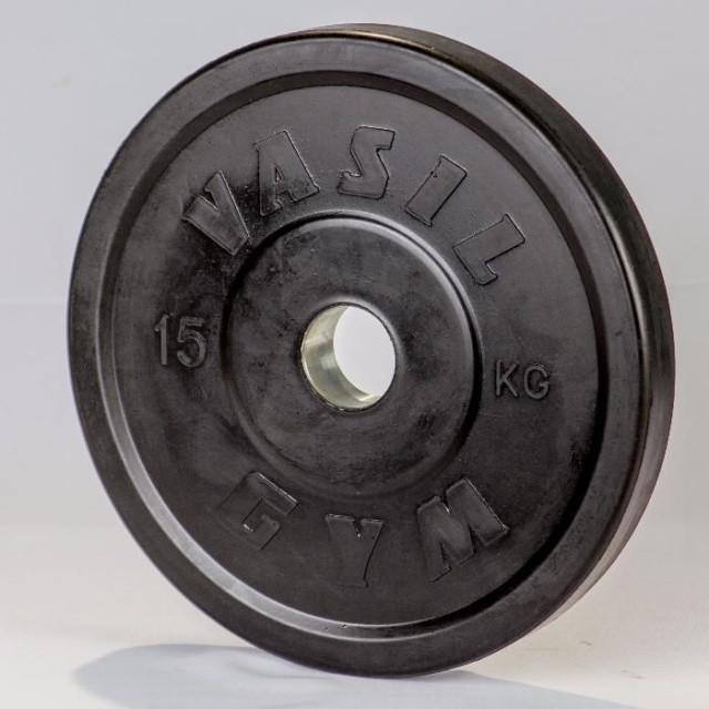 Диски профессиональные обрезиненные 15 кг