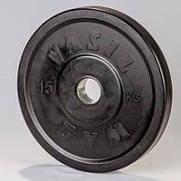 Диски профессиональные обрезиненные 15 кг, фото 1