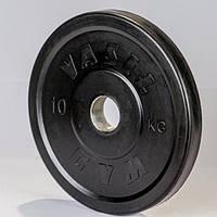 Диски профессиональные обрезиненные 10 кг