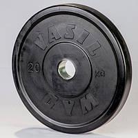 Диски профессиональные обрезиненные Vasil 20 кг