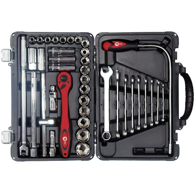 Профессиональный набор инструментов INTERTOOL ET-7039
