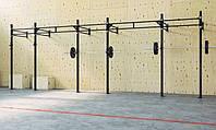 Стійка для кросфіту на 5 прольотів пристінна 1800 х 6900 DS-0C10