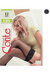 Conte CLASS Чулки 12 grafit Код 19643