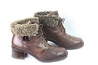 Зимние женские ботинки  натур кожа размер 39