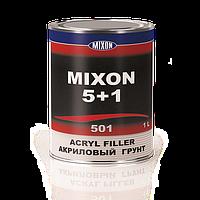 Автомобильный акриловый грунт MIXON 5+1. Белый. 1 л