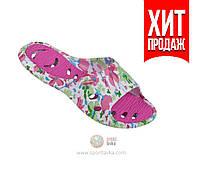 Шлепанцы пляжные женские Spokey 36-40 р. (original) Carvy, тапочки для бассейна, шлепки