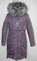 Красиве жіноче зимове пальто з капюшоном 44-52р