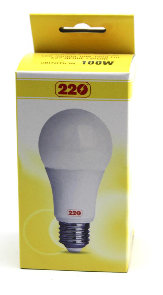 Лампа LED А60 10Вт 220В Е27 4100К Сокол