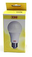 Лампа LED А60 10Вт 220В Е27 4100К 220тм
