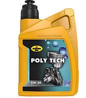 Масло моторное синтетическое Kroon Oil Poly Tech 5W-30 1л.