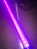 Светодиодная фито лампа для растений led tube 9 вт  220 в