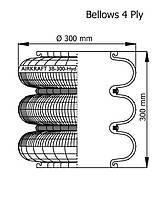 115004 Пневморессора AIRTECH 3B-300