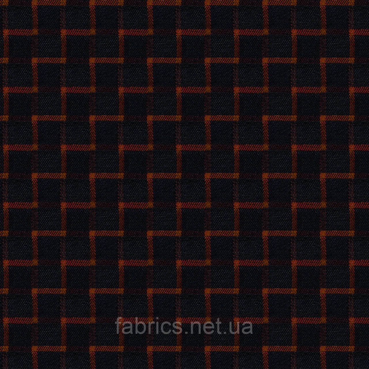 Ткань шотландка на флисе