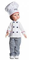 Кукла Paola Reina Карлос шеф-повар 32 см