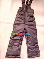 Зимние брюки полукомбинезон