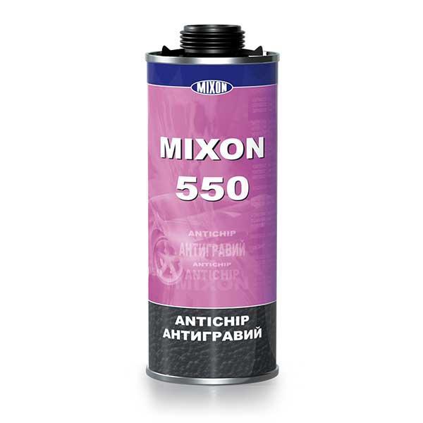 Антигравий Mixon 550 черный. 1 л