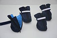 Обувь ботинки для собак с флисом