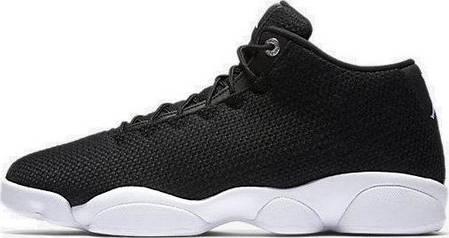 2bfd68dfee42 Баскетбольные кроссовки Nike Air Jordan Horizon Low Black White, фото 2