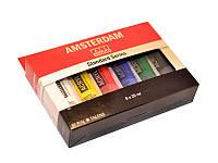 Краска акриловая Amsterdam набор 6цв. по 20мл