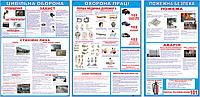Стенд з ЦО, охорони праці, пожежної безпеки (70409.1)