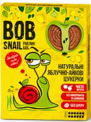 Натуральные яблочно-айвовые конфеты Bob Snail Равлик Боб, 120 г