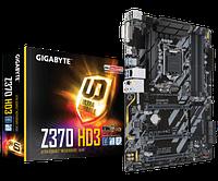 Материнская плата Gigabyte GA-Z370-HD3 (PCI-E DDR4 USB 3.1 / M.2)