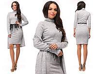 Платье+кардиган №3594К (р-р.42,44,46). Ткань: трикотаж-ангора. Цвета в ассортименте.