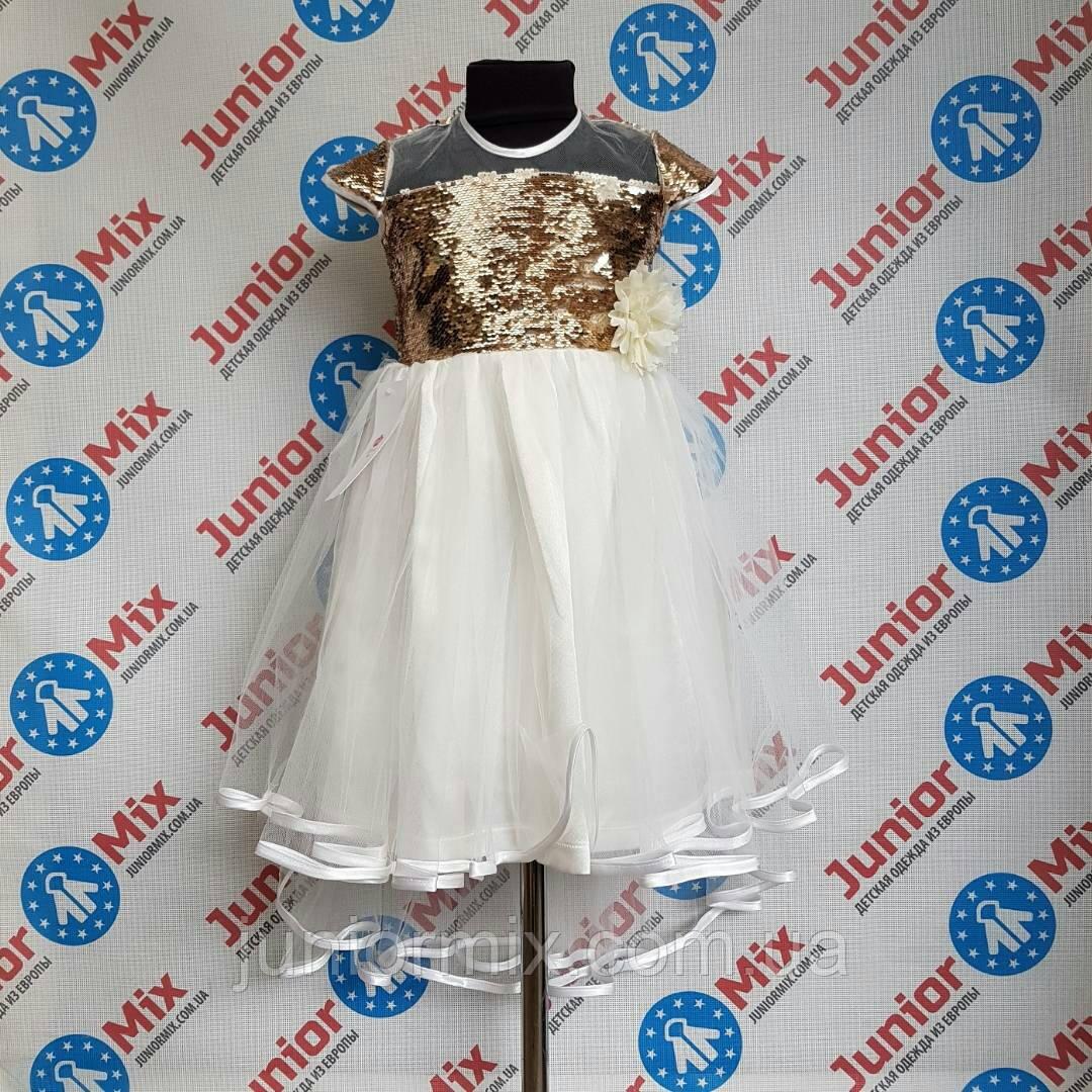 Ошатне пишне дитяче плаття для дівчаток оптом DEVA. ПОЛЬЩА
