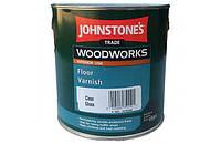 Полиуретановый алкидный лак 5л Johnstone's Floor Varnish Gloss глянцевый.