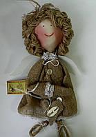 Декоративна підвіска Ангел полотняний Декоративная подвеска Ангел полотняный