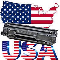 Картридж лазерный оригинальный из USA HP CE278A