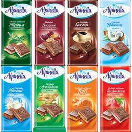 Шоколад alpinella польша