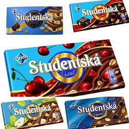 Шоколад studentska, чехия