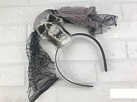 Карнавальный обруч с черепом на Хэллоуин Halloween