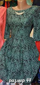 Хорошенькое жаккардовое платье