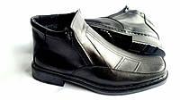 Мужские кожаные зимние ботинки Leon Квадро  , фото 1