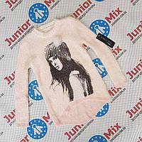 Модная теплая детская кофта для девочек оптом ITALY MODA