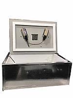 Инкубатор для я Наседка ИБМ-100 с механическим переворотом цифровым терморегулятором в металле.