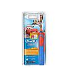 Детская электрическая зубная щетка Oral-B D12. 513 Stages Power (для мальчика), Тачки