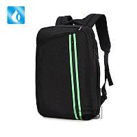 Рюкзак - сумка городская для ноутбука черная