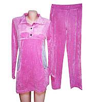 Домашний спальный костюм, розовый