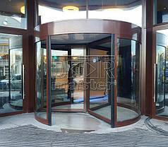 Автоматические карусельные двери KBB KA023, d=3000мм